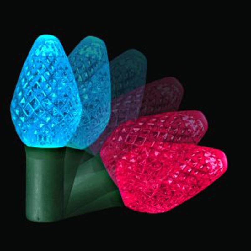 specialty led lights icicle lights nets twinkle leds color changing leds - Christmas Lights That Change Color