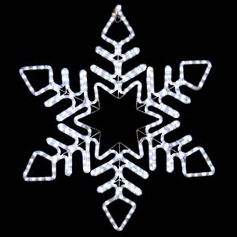 Rope Light Snowflake Led rope light and rope light snowflakes audiocablefo