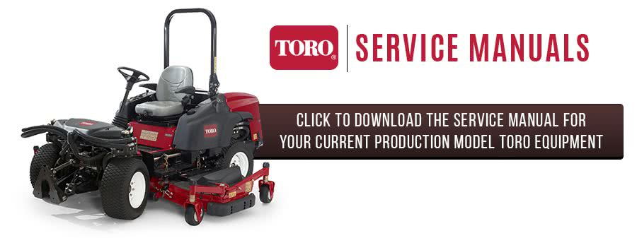 Can you find a Toro service manual?
