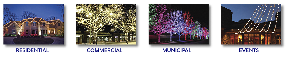 Residential, Commercial, Municipal, Events Led Light Displays