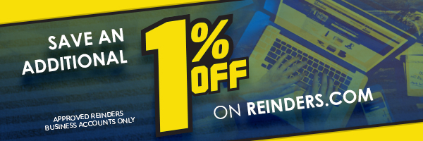 Save an additional 1% shopping on Reinders.com - approved Reinders business accounts only